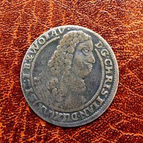 Силезия. 3 крейцера 1664 г.
