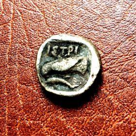 Фракия. Истрия дидрахма IV в. до н.э.