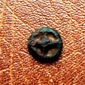 Фракия. Истрия. Монета - колесико. V век до н.э.