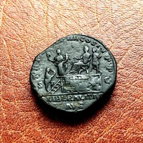 Коммод. Сестерций. 180-192 гг.